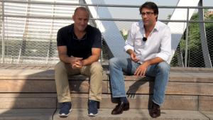 Felix Valdivieso y Miguel Panadero