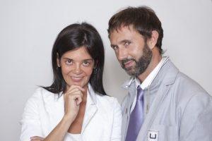 Sylvia Leal y Jorge Urrea